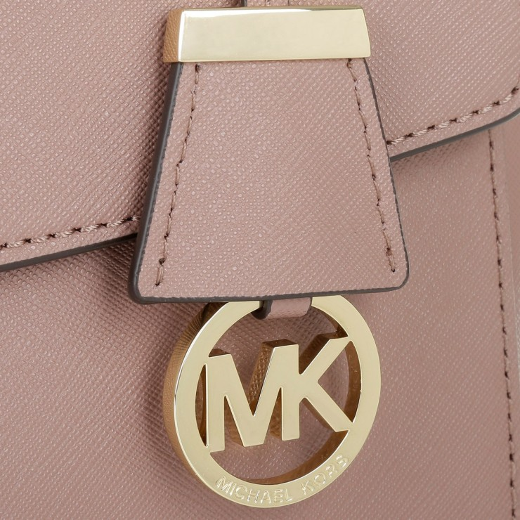 Сумка MICHAEL KORS Ava Medium Leather Пыльная роза