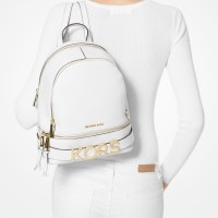 Рюкзак MICHAEL KORS Rhea Medium Embellished Backpack Белый