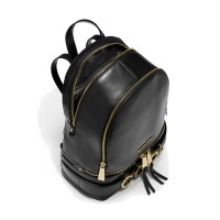 Рюкзак MICHAEL KORS Rhea Medium Embellished Backpack Черный
