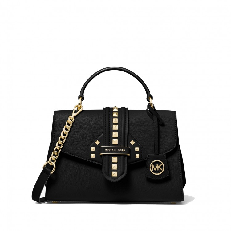 Сумка MICHAEL KORS Bleecker Small Studded Черная