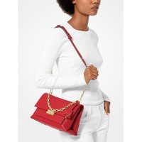 Сумка MICHAEL KORS Cece Medium Leather Shoulder Bag Ярко-красная
