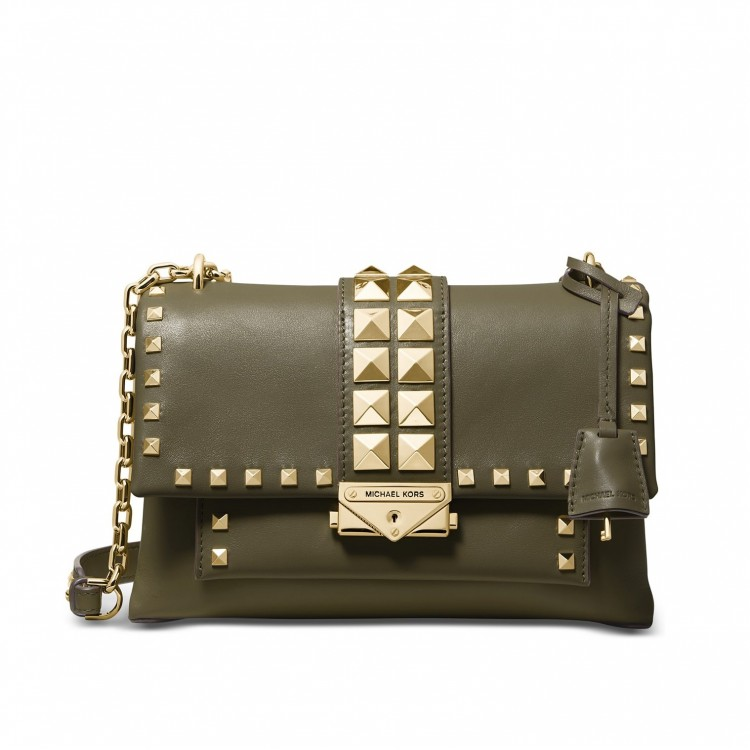 Сумка MICHAEL KORS Cece Medium Studded Оливковая