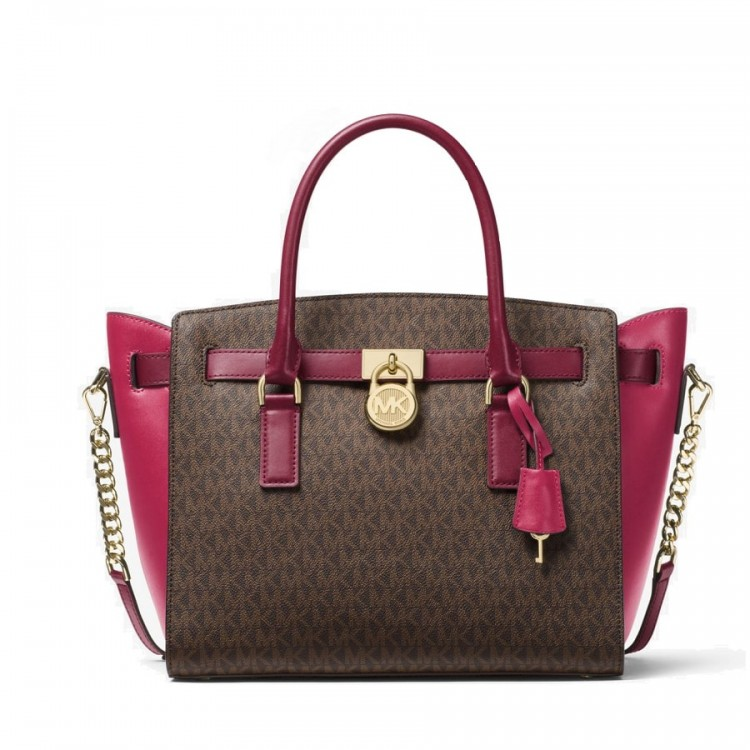 Сумка MICHAEL KORS Hamilton Large Color-block Logo