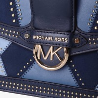 Сумка MICHAEL KORS Jessie Medium Leather Синяя