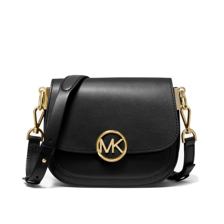 Сумка MICHAEL KORS Lillie Medium Leather Saddle Bag