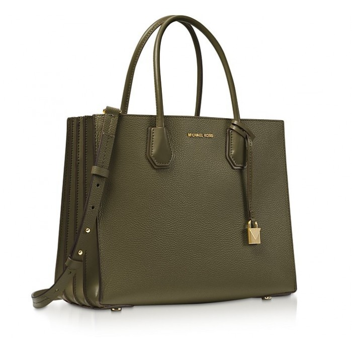 Сумка MICHAEL KORS Mercer Large Tote Оливковая