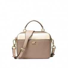 Сумка MICHAEL KORS Mott Mini Color-Block Crossbody Бежевая