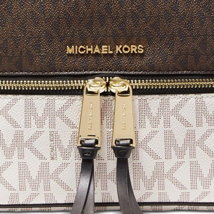Рюкзак Michael Kors Rhea Medium Logo Backpack Color-block
