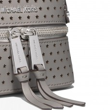 Рюкзак Michael Kors Rhea Extra-Small Perforated Серый