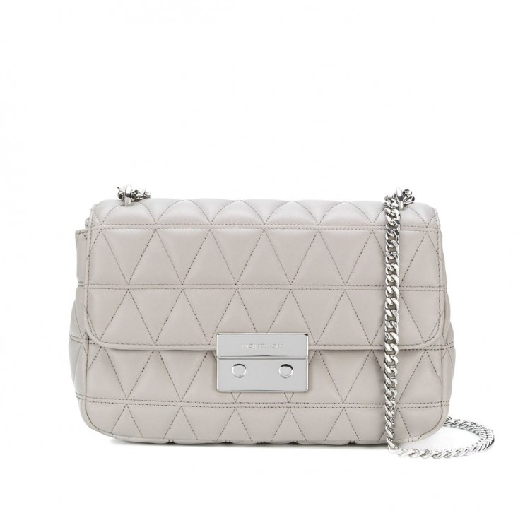 Сумка MICHAEL KORS Sloan Large Quilted Leather Серая