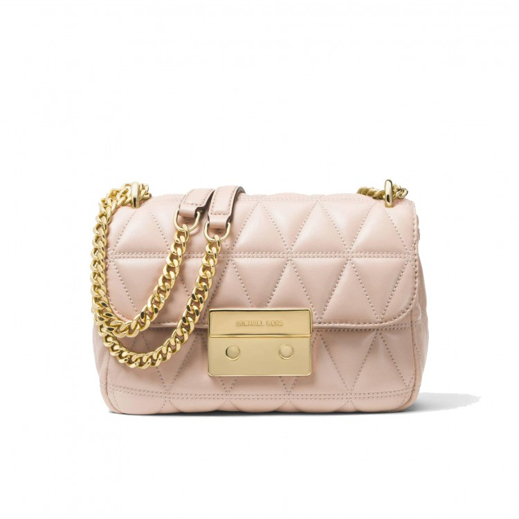 Сумка MICHAEL KORS Sloan Small Quilted Leather Нежно-розовая