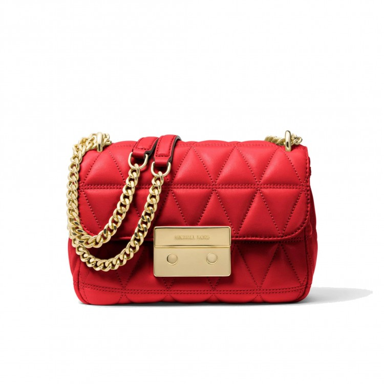 Сумка MICHAEL KORS Sloan Small Quilted Leather Красная
