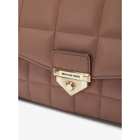 Сумка MICHAEL KORS Soho Quilted Leather пыльная роза