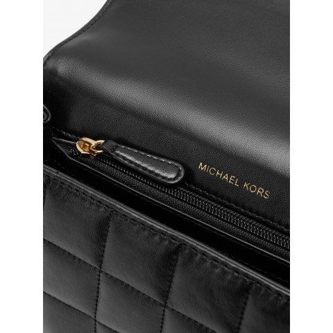 Сумка MICHAEL KORS Soho Quilted Leather черная