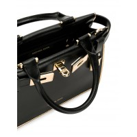 Сумка MICHAEL KORS Tatiana Mini Leather Satchel Черная
