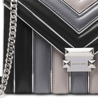 Сумка MICHAEL KORS Whitney Large Quilted Tri-Color Серая